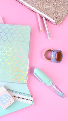 #HEMA #stationery #mermaid #pink #backtoschool Mermaids, Back To School, Journaling, Nova, Stationery, Bullet Journal, Wallpapers, Unique, Pink