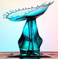hermosas uas hechas con gota de arte  gota de arte  Pinterest
