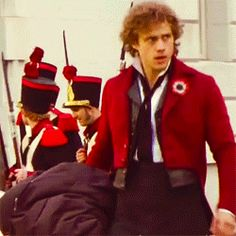 but...there's a car in the background...so they weren't filming...IS THIS HOW AARON TVEIT NORMALLY WALKS...#Strut