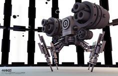 3D Bots on Behance