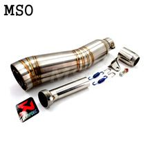 Motorcycle parts motorcycle exhaust pipe muffler silencer 36-51mm motorcycle exhaust pipe