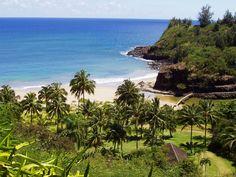 Allerton Gardens in Kauai, Hawaii