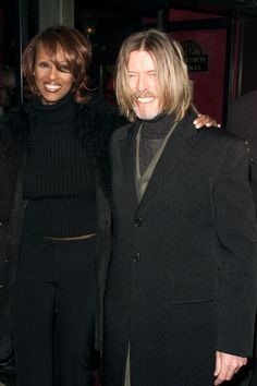 David Bowie + Iman's Love, in Pictures