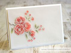 By Teneale Williams | Stampin' Up! Artisan Blog Hop | Indescribable Gift