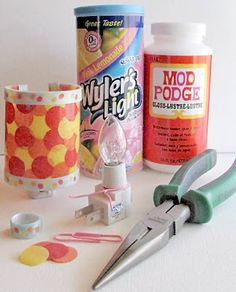 What to make with Crystal Light Containers...