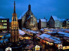 ALEMANHA- Mercado de Natal, Nuremberg