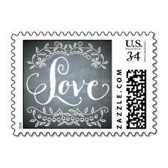 Chalkboard - Love Stamps http://www.zazzle.com/chalkboard_love_stamps-172216883399356697?denomination=34&rf=238194283948490074&tc=pfz #envelopments #wedding #chalkboard #marriage #married #love #stamps #zazzle