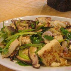 Organic Soft Tofu with Shiitake Mushrooms & Ginger