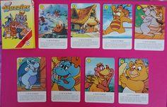Vintage Fournier Wuzzles playing cards / Baraja de cartas Wuzzles de Fournier | Flickr - Photo Sharing!