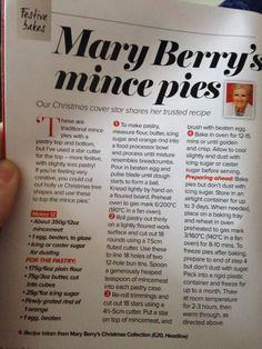Mary Berry recipe!