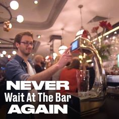 Some inventions make Friday even better. Contactless beer pumps are here!