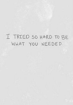 But I failed. I tell you all to stay strong because you're worth it. I can't even take my own advice. I'm sorry