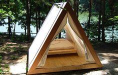 luxury beach hut tent camping