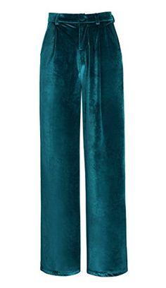 Urban GoCo Donna Elegante di Velluto Pantaloni a Zampa Ga... https://www.amazon.it/dp/B074WMWFQD/ref=cm_sw_r_pi_dp_x_vmm5zbF60QRCX
