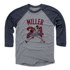 Andrew Miller Arch R Cleveland MLBPA Officially Licensed Baseball T-Shirt Unisex S-3XL
