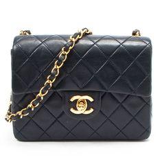 classic: Chanel Mini Matelasse Chain Shoulder Bag