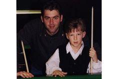 Ronnie O'Sullivan and Judd Trump in 2005