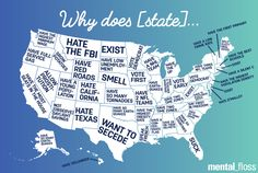 Here's the Weirdest Thing About Your State, According to Google  - Seventeen.com
