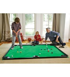 Family Play Time Indoors #Golf #Pool #IndoorFun