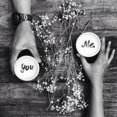 ❤️ You and Me and Coffe