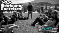 50 + Bootcamp Fitness Exercises l Outdoor Fitness Games