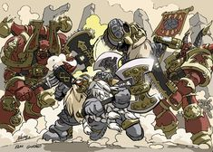 Squats vs Chaos by NachoMon.deviantart.com on @deviantART