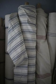 Grain Sack Fabric by the Yard - 10 styles available