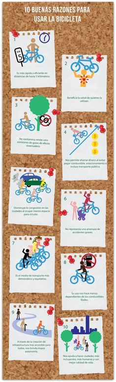 10 razones para usar la bici.