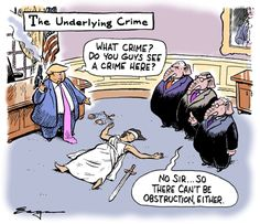 Political Satire Cartoons, Trump Cartoons, Lady Justice, Campaign Posters, Calvin And Hobbes, Comics Online, Comic Strips, Crime, Comic