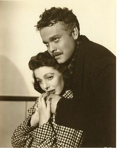 "Loretta Young & Orson Welles ""The Stranger"", 1946 http://www.pinterest.com/c6wt/1946/"