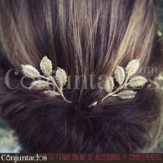 Gran surtido de ideales horquillas y pasadores en nuestra sección web de accesorios para tu pelo ★ desde 4,95 € en https://www.conjuntados.com/es/para-tu-pelo/pasadores-y-horquillas.html ★ #novedades #paratupelo #foryourhair #conjuntados #conjuntada #complementos #moda #fashion #fashionadicct #picoftheday #outfit #estilo #style #GustosParaTodas #ParaTodosLosGustos