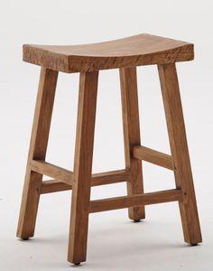 Sika Design Charles Teak Stool | Artilleriet | Inredning Göteborg