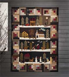 SILENT NIGHT QUILT PATTERN - Product Details