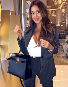 Stylish Work Outfits, Business Casual Outfits, Office Outfits, Business Fashion, Classy Outfits, Office Wear, Suit Fashion, Work Fashion, Fashion Outfits