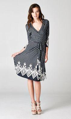 Grace Surplice Dress