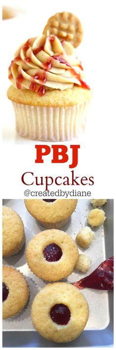 pbj cupcakes from @createdbydiane