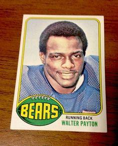 Walter Payton rookie