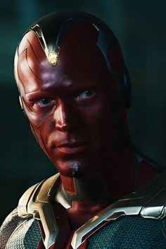 Paul Bettany as Vision in 'Avengers: Age of Ultron' (2015)  SO MUCH HI-RES. GOD BLESS.