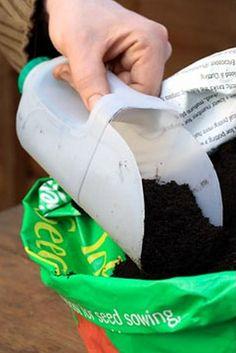 DIY Plastic Bottle Shovel Idea | Creative Ideas