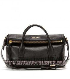 Cheap Miu Miu Textured-Leather Tote UK Sale in 2013/2014