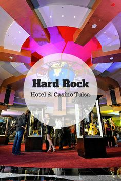 The Hard Rock Hotel & Casino just outside of Tulsa has over 2,600 slot machines, three hotel towers, several restaurants - and of course the rock and roll memorabilia the Hard Rock name is known for.