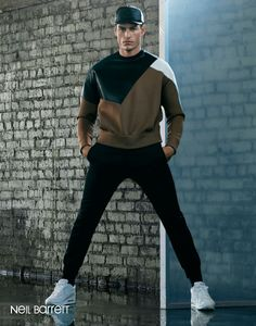 Tyson Ballou Sports the Fall/Winter 2013 Collections for Simons