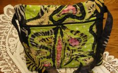 Funky Zippered Bag Stitch & Slash Class b...   Quilting Ideas
