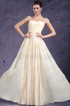 eDressit New Adorable Cap Sleeves Evening Dress Prom Gown (02131914)