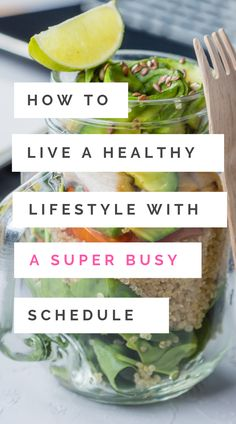 These helpful healthy lifestyle tips will give you the motivation to live a healthy life - even when you're super busy. Whether you're meal prepping or making healthy snacks, we're covering everything from exercise and fitness hacks to help you lose weigh Healthy Lifestyle Tips, Healthy Living Tips, Healthy Habits, Healthy Tips, How To Stay Healthy, Healthy Snacks, Healthy Eating, Healthy Recipes, Healthy Carbs