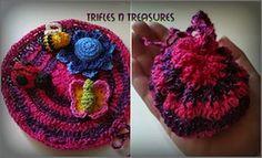 Bitty Bugs Playset - $5.00 by Tera Kulling of Trifles N Treasures / Bugs Part 2 - Animal Crochet Pattern Round Up - Rebeckah's Treasures