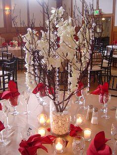 Centerpiece idea (somewhat)  Manzanita Branches