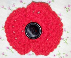 Crochet Poppy pattern with photos