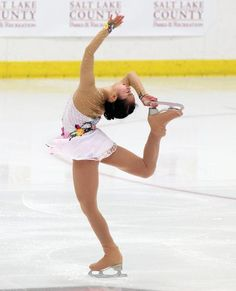 Riona Kato, Ladies short at U.S. International Classic 2014, White Figure Skating / Ice Skating dress inspiration for Sk8 Gr8 Designs