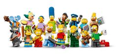 16-figure minifigure series will launch May 1 and will coincide with a Lego-themed episode of The Simpsons airing May 4. The minifigures will retail for $3.99 each.